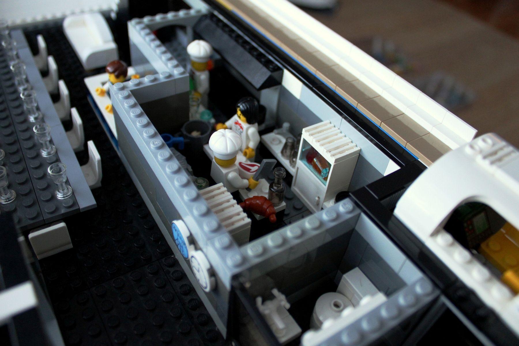 LEGO MegaYacht  Keith Orlando