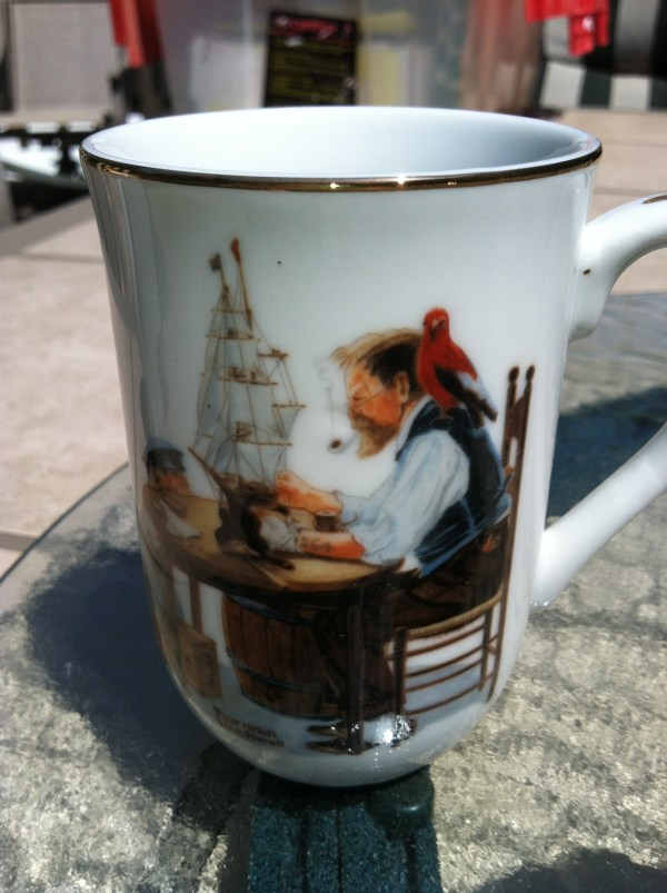 Normal Rockwell Collector Cups And Glasses Antique