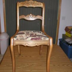 Ethan Allen Wingback Chairs For People With Back Pain Wing Chair Crewel Work Antique Appraisal