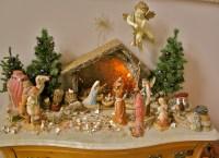 Creche Nativity Christmas Decoration Set antique appraisal ...