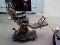 Antique Dental Chair Ritter