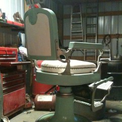 Koken Barber Chair Headrest How To Clean Plastic Chairs At Home Antique Appraisal Instappraisal