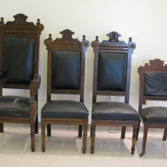 Free Church Chairs Oversized Zero Gravity Chair With Canopy 4 Pulpit Antique Appraisal Instappraisal