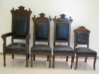4 Church Pulpit Chairs antique appraisal