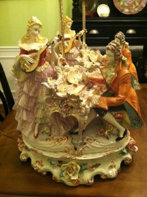 Capodimonte Lamp Antique Appraisal Instappraisal