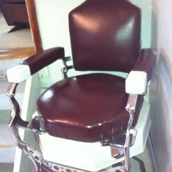 Antique Wood Barber Chair Cover Hire Shrewsbury Koken Appraisal Instappraisal
