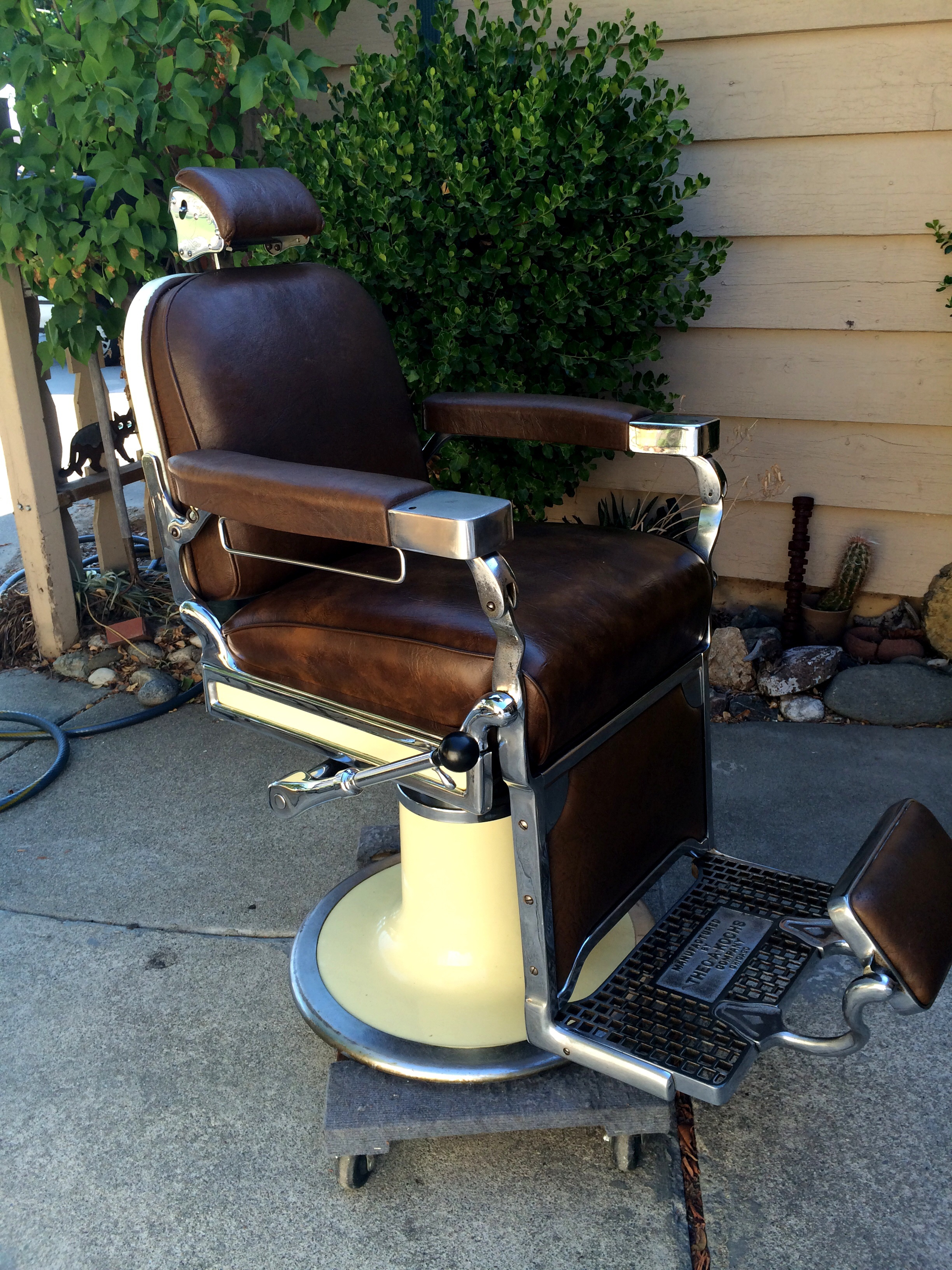 Antique Barber Chair For Sale Theo A Koch Antique Barber Chair Antique Appraisal