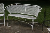 Vintage Wrought Iron Patio Furniture Salterini Tempestini