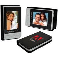 """Personalized Travel digital photo frame with 2.4"""" LCD ..."""