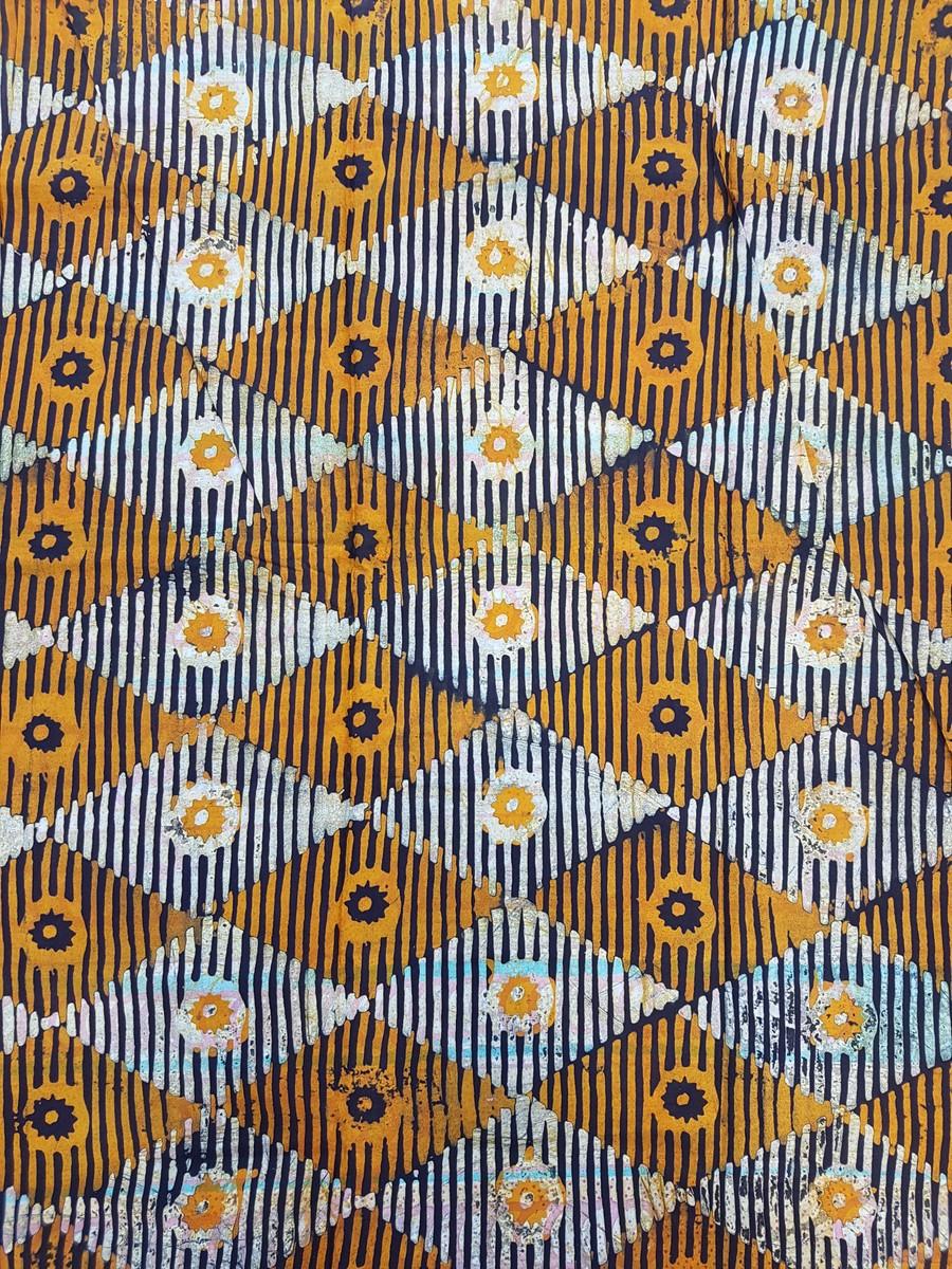 4 Yards Of Fabric : yards, fabric, Yards, Batik, /Adire/, African, Print, Shopenosaint, Adire, Afrikrea
