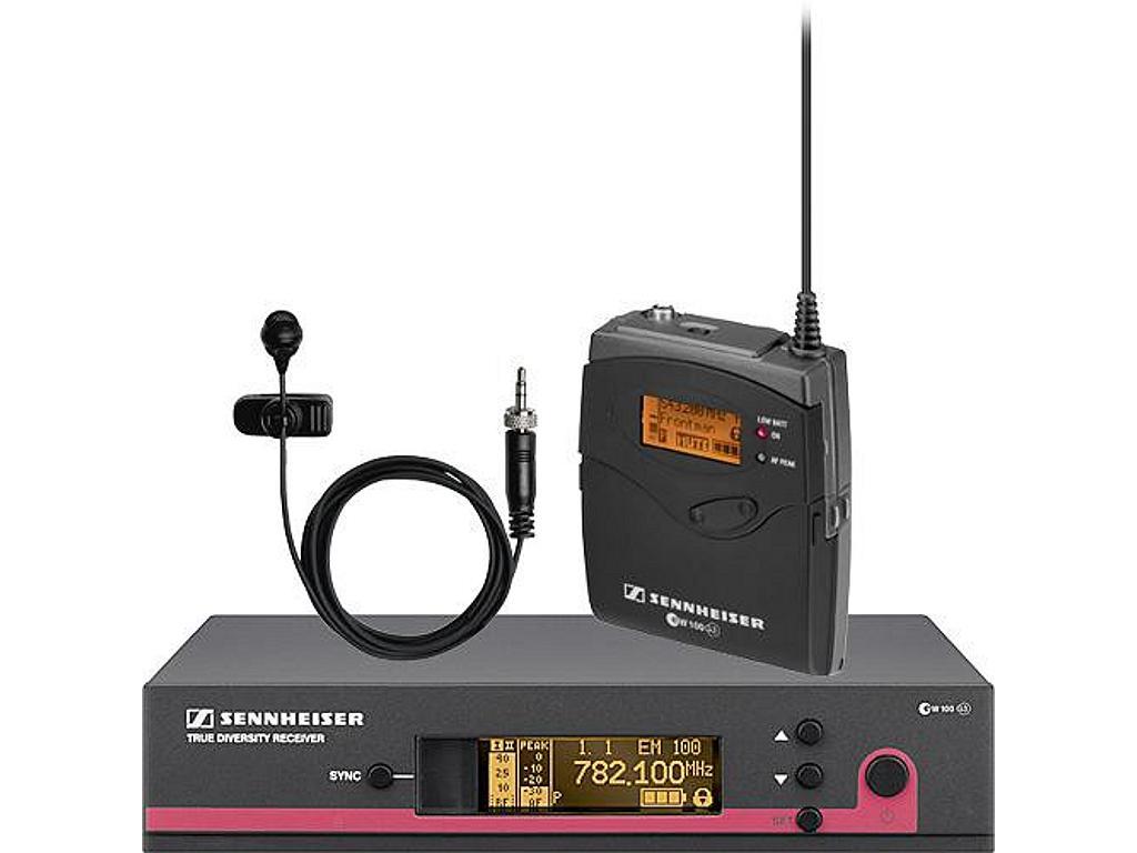sennheiser ew 122 g3 wireless microphone system 566 608 mhz