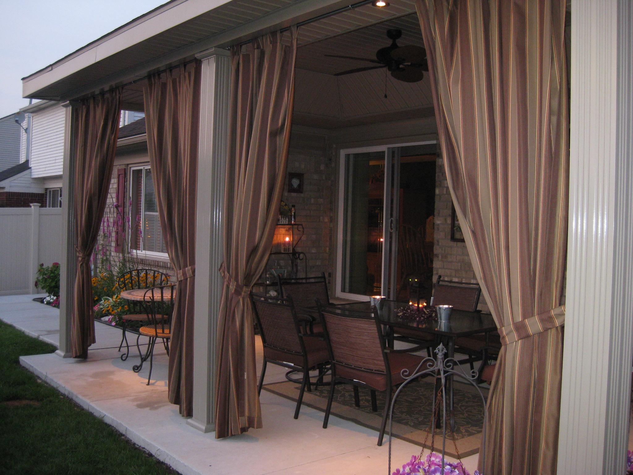 Custom Outdoor Curtains Cushion Source Ca