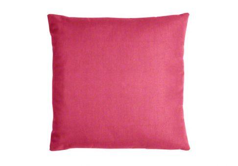 Sunbrella Throw Pillow in Hot Pink