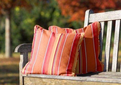 Sunbrella Throw Pillow in Dolce Mango