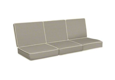 replacement cushions for sofa backs table chairs custom - 3 & seats