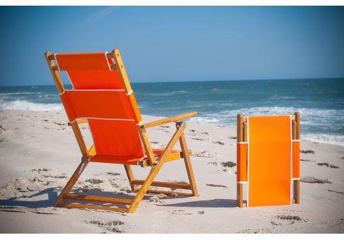 beach chairs with footrest folding chair mat classic oak wood detachable umbrella source