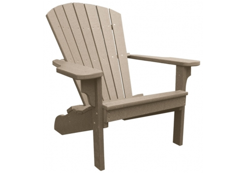 Recycled Plastic Adirondack Chair  Commercial Site