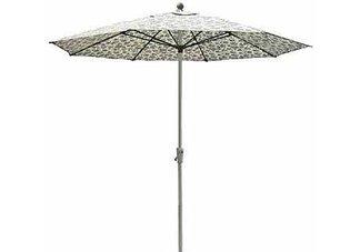 9' Aluminum Crank Market Umbrella with Fiberglass Ribs