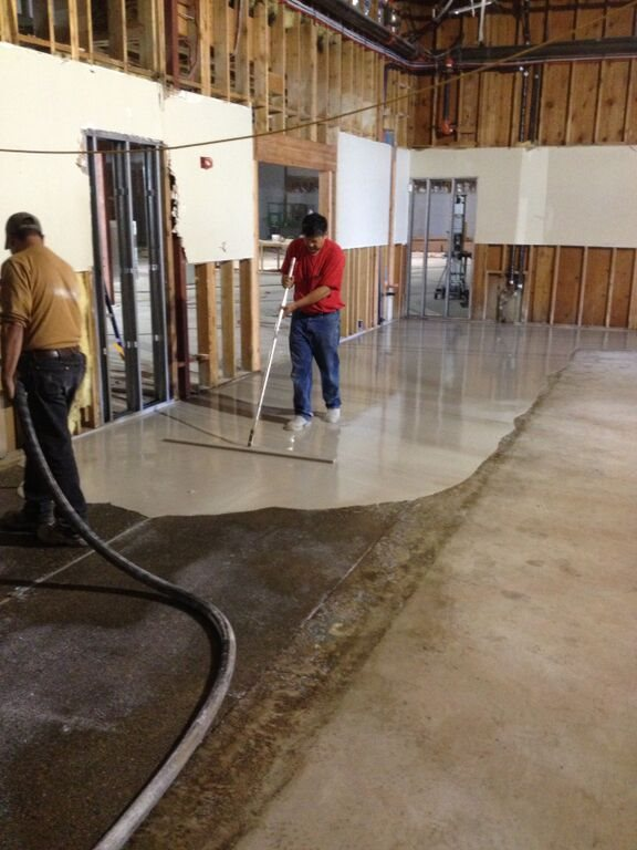 Floor Leveling  Janes Gypsum Floors