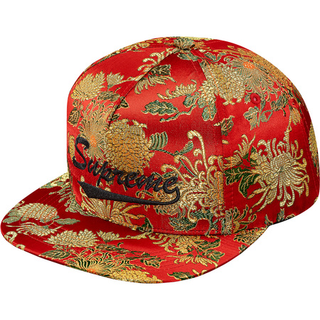 Eastern Floral 5-Panel (Red)