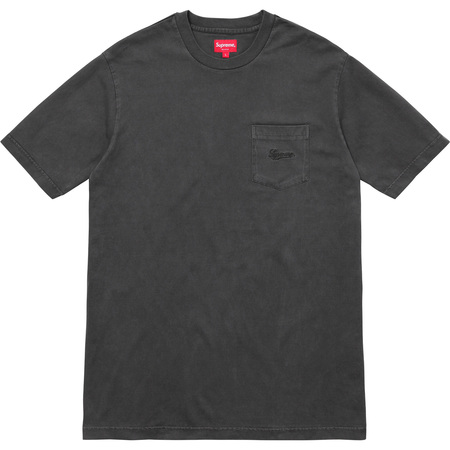Overdyed Pocket Tee (Black)