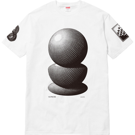 M.C. Escher Three Spheres Tee (White)