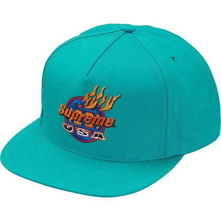 Fire 5-Panel (Teal)