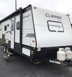 by929 2019 coachmen clipper ultra lite 21rbss  [ 1280 x 960 Pixel ]