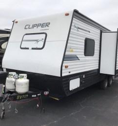 2019 coachmen clipper ultra lite 21rbss  [ 1280 x 960 Pixel ]