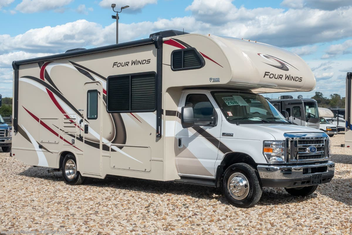 hight resolution of new 2019 thor motor coach four winds 26b rv for sale at mhsrv w 15k a c stabilizers