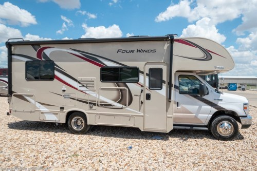 small resolution of new 2019 thor motor coach four winds 25v rv for sale at mhsrv w 15k a c stabilizers