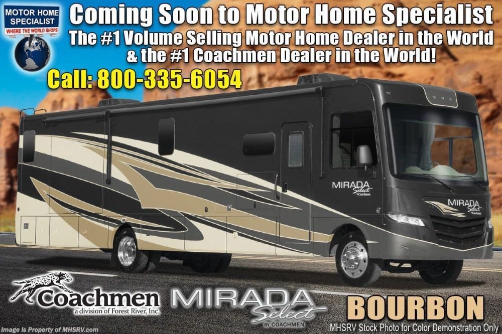 medium resolution of new 2020 coachmen mirada select 37tb bath 1 2 2 a c salon bunk theater seat