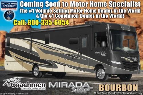 small resolution of new 2020 coachmen mirada select 37tb bath 1 2 2 a c salon bunk theater seat