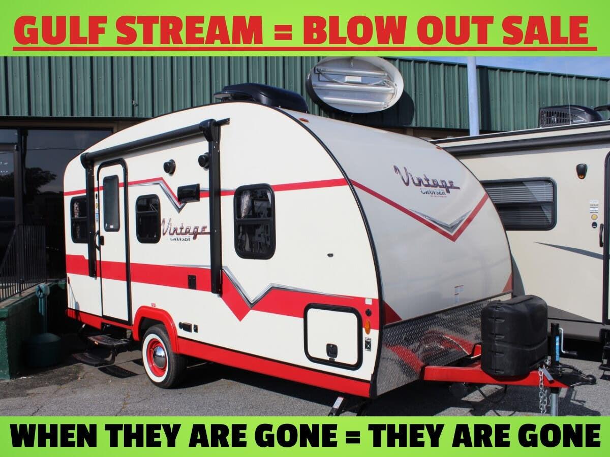 hight resolution of  17scd 2019 gulf stream vintage cruiser 17scd travel trailer for sale in columbus ga