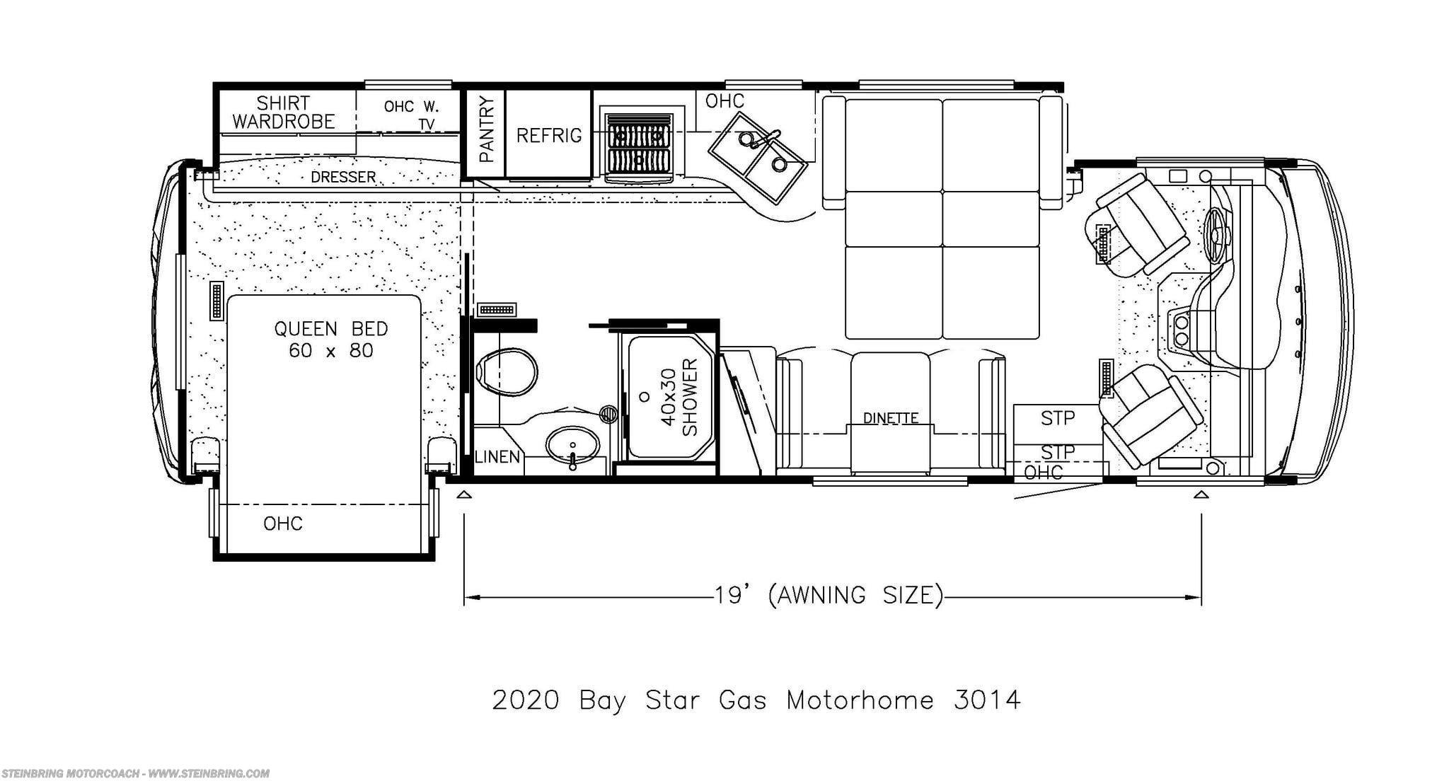 2020 Newmar RV Bay Star 3014 for Sale in Garfield, MN