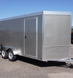 v77221 2019 triton trailers vault vc 7x14 enclosed 6 6 int cargo pewter cargo trailer for sale in ramsey mn [ 1200 x 1200 Pixel ]