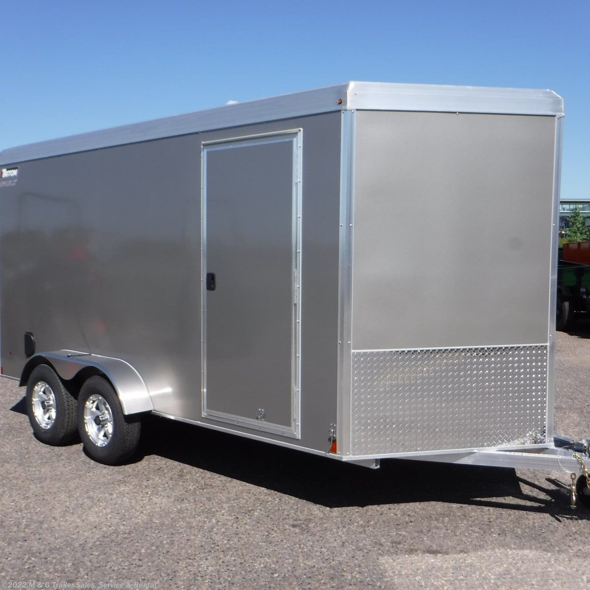 hight resolution of  v77221 2019 triton trailers vault vc 7x14 enclosed 6 6 int cargo pewter cargo trailer for sale in ramsey mn