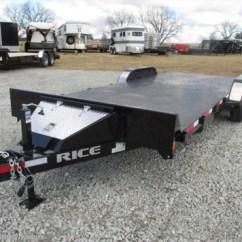 Car Hauler Trailer Wiring Diagram 3 Way Switch Multiple Lights Uk #rt15149 - 2017 Rice Trailers Magnum 82x20 Carhauler 10k Steel Deck! For Sale In Fairland Ok
