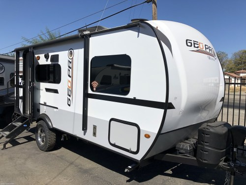small resolution of 2019 forest river rockwood geo pro g19fbs new travel trailer in los banos california 93635