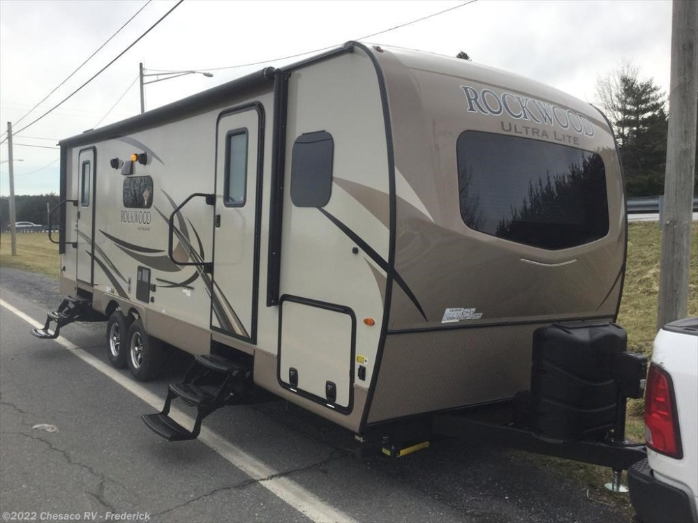 medium resolution of new 2018 forest river rockwood ultra lite 2612ws for sale by chesaco rv frederick available