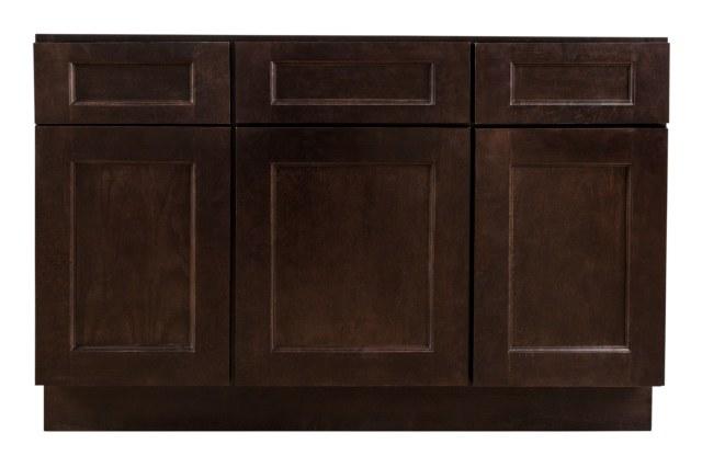 Grafton Bathroom Vanity Cabinets Modern Collection Espresso 48