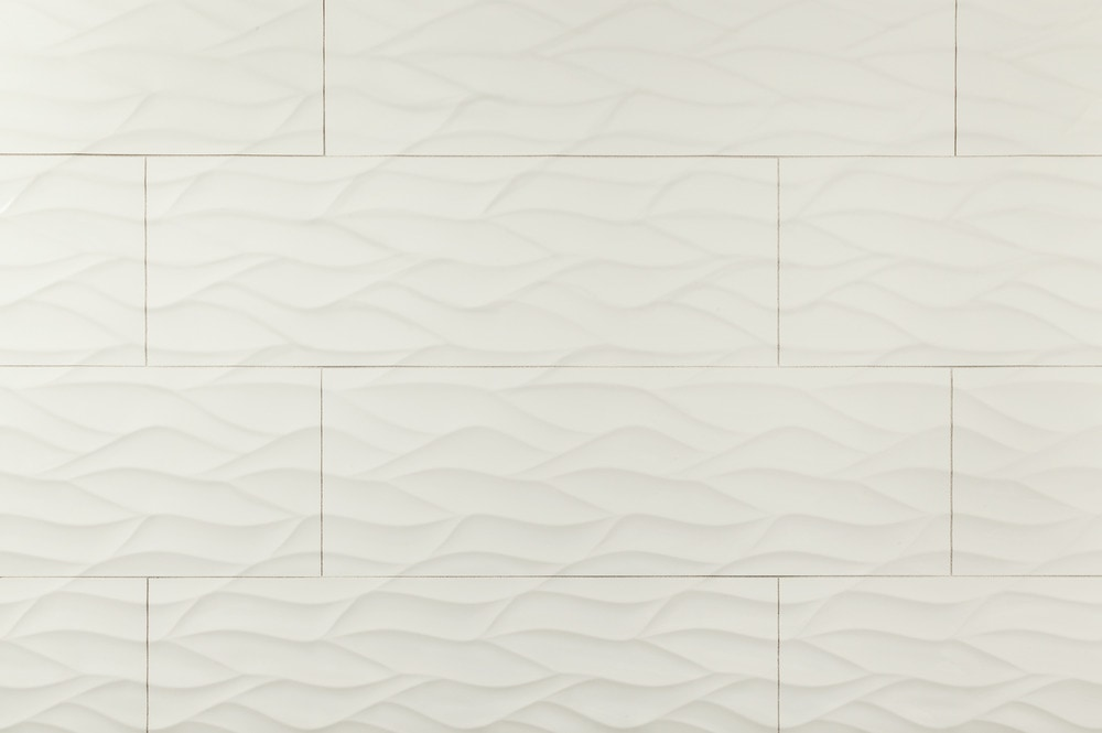 builddirect alzatina ceramic wall tile waves 3d collection
