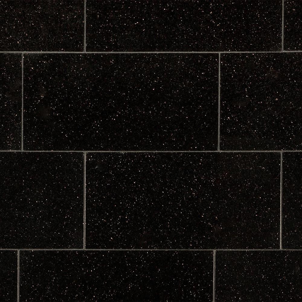 Agra Granite Tile  Pallavas Collection Black Galaxy  12