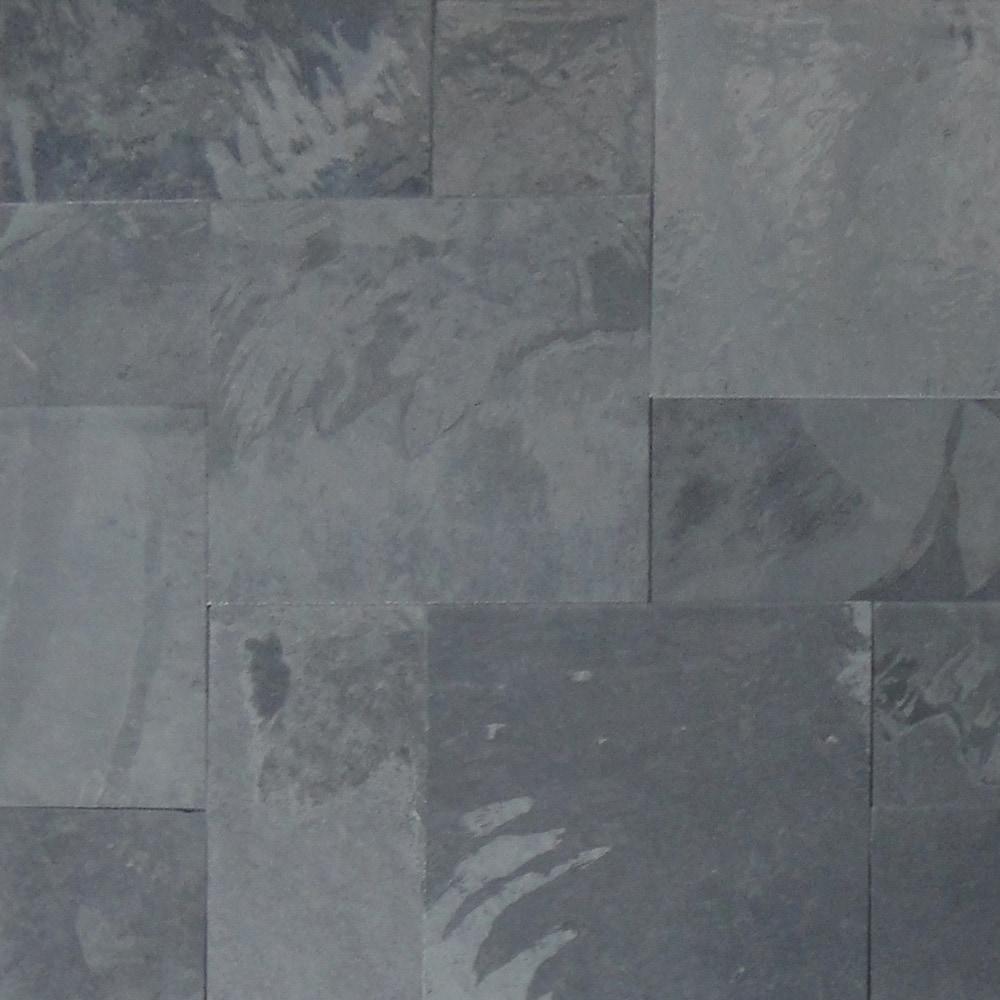 slate tile french pattern