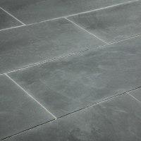 "Janeiro Slate Tile Montauk Blue / 12""x24"" / Natural"