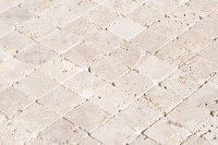 FREE Samples: Izmir Travertine Tile - Tumbled Rustic Beige ...
