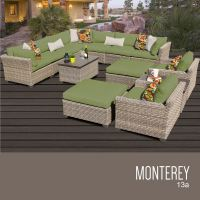 TK Classics Monterey Collection Outdoor Wicker Patio ...