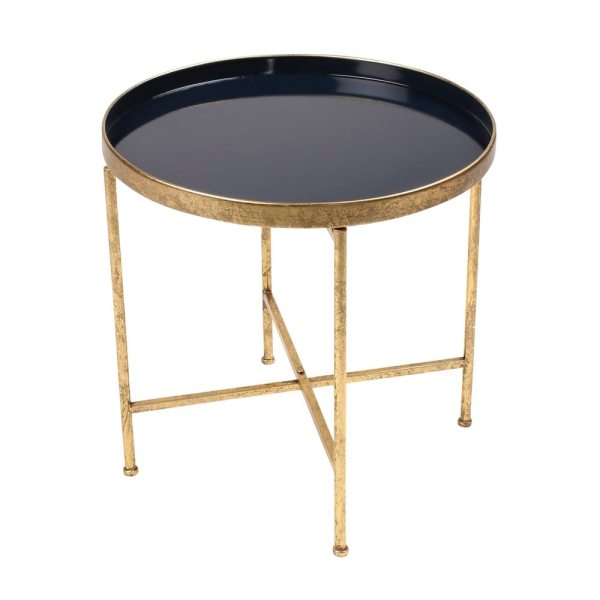 Kate And Laurel Deliah Metal Accent Table End