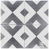 Rustico Tile and Stone Encaustic Cement Tile Diamond ...