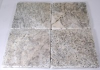 Carved Stone Creations, Inc. Travertine Floor Tile Silver ...